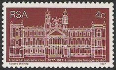Supreme Court of Transvaal Arno, Supreme Court, Postage Stamps, South Africa, African, Wall Art, Collections, Crafts, Crafting
