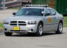 Iowa state police car