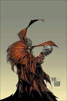 Spawn by Greg Capullo Comic Book Artists, Comic Book Heroes, Comic Artist, Comic Books Art, Spawn Comics, Marvel Dc Comics, Anime Comics, Batman Comic Art, Gotham Batman