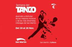 San Martín celebra la Semana del Tango