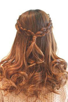 Hairstyles 2014 - crown-like braid down do | ヘアスタイル 2014 - 冠風編み込みアレンジ(ヘアスタイリスト 前田 真吾)
