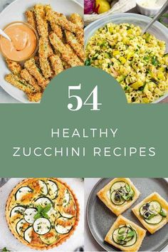 53 Healthy dinner recipes with zucchini. Several recipes are low carb or vegetarian or vegan. These recipes are low calories for clean eating. Some use the air fryer, others are raw or baked. Learn how to make healthy zucchini recipes like zucchini boats, zucchini fries, zucchini fritters, and more. Make healthy zucchini recipes dinner for light summer meals. Raw Zucchini Salad, Zucchini Pizza Bites, Zucchini Soup, Zucchini Boats, Healthy Zucchini, Zucchini Fritters, Grilled Zucchini, Recipe Using Zucchini, Light Summer Meals