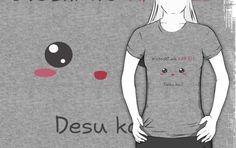Buy it : http://www.redbubble.com/people/aoko/works/13987397-watashi-wa-kawaii-desu-ka?p=t-shirt