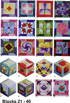 Blocks 21 - 40