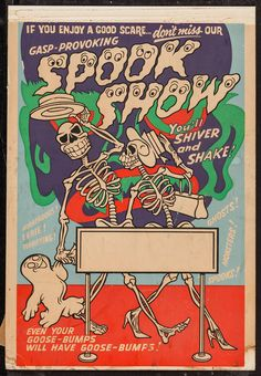 Spook Show Poster #typehunter