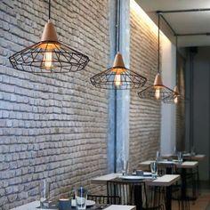 Clarinda Fusion Wood and Cage Interior Lighting Pendant Lighting Sale, Wall Sconce Lighting, Interior Lighting, Pendant Lighting, Industrial Pendant Lights, Contemporary Pendant Lights, Vintage Lighting, Modern Lighting, Salt Rock Lamp
