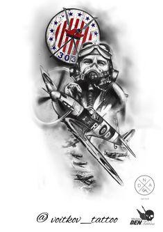 Military Sleeve Tattoo, Military Tattoos, Spitfire Tattoo, Dna Tattoo, Poland History, Military Drawings, Desenho Tattoo, Grouse, Tattoo Stencils