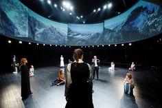 The Magic Mountain by Thomas Mann, directed by Janusz Kica. Premiere: 30/12/2015. More info at www.zekaem.hr