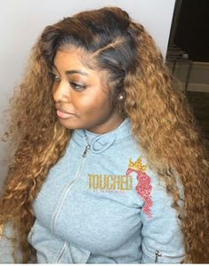Curly Wig Brazilian Lace Wigs With Baby Hair Lace Front Wig Pre Plucked Bleached Knots Baddie Hairstyles, Black Girls Hairstyles, Weave Hairstyles, Pretty Hairstyles, Curly Hair Styles, Natural Hair Styles, Birthday Hair, Hair Laid, Love Hair