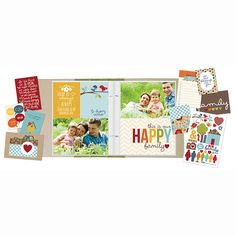 Tarjetas Sn@p Family para hacer increíbles álbums familiares. #scrapbooking #aperfectlittlelife ☁ ☁ A Perfect Little Life ☁ ☁ www.aperfectlittlelife.com ☁