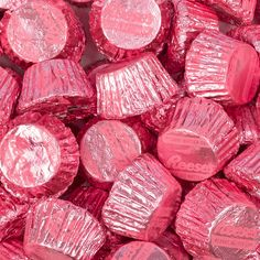 Reese's Peanut Butter Cups with Purple Foil Purple OUD Just Candy makes every occasion sweeter with bulk candy, candy buffets and party favors Pink Love, Pretty In Pink, Coral Pink, Pink Color, Bulk Chocolate, Chocolate Party, Chocolate Covered, Catty Noir, Images Esthétiques