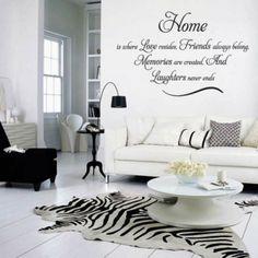Muurstickers... ,....Leuk idee voor in de woonkamer ,hal slaapkamer,kinderkamer enz.   echt leuk!  .... ga naar de bron voor het adres en voorbeelden!....