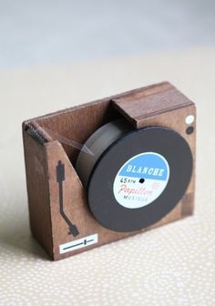 Put Your Records On Tape Dispenser / Shop Ruche by queen