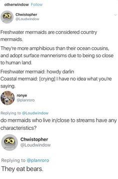 Freshwater Mermaids
