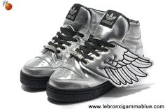 first rate d900b 8d058 Fashion Adidas X Jeremy Scott Wings Shoes Silver Latest Now Zapatillas De  Baloncesto Nike, Botas