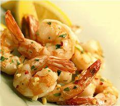The extraordinary simple citrus-based marinade is the key to succulent, world-class shrimp! Citrus Garlic Shrimp Ingredients 1 peeled lemon 1 tbsp lime juice cloves of garlic 4 large basil leav… Garlic Shrimp Pasta, Shrimp Pasta Recipes, Seafood Recipes, Fried Shrimp, Grilled Prawns, Sauteed Shrimp, Butter Shrimp, Herb Butter, Garlic Butter