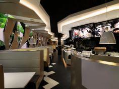 Carnegie Xorel Prism as banquette upholstery  http://carnegiefabrics.com/productsearch.aspx#v=%7B-f-.%7B-Usage-.%5B0%5D%7D_-p-.1_-s-.-prism-_-d-.%7B-ID-.268_-ColorNumber-.162%7D%7D