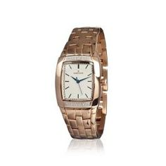 Shop it now » #Diamant Rose Gold Watch [White Rose Watch [WA00036] - Galerias Fashion 40%OFF
