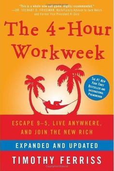 The Audio Book: The 4 Hour Work Week by Timothy Ferriss Social Media Online Traffic Offline Traffic Copywriting Sales Productivity Leadership & Management Fulfillment & Automation Grow Your Wealth Timothy Ferriss, Tim Ferriss, Good Books, Books To Read, My Books, This Is A Book, The Book, 4 Hour Work Week, Life Changing Books