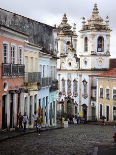 Pelourinho Historic District - Salvador, Brazil