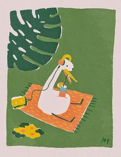 Loving the portfolio of illustrator Marquitos Farina! Art And Illustration, Character Illustration, Portfolio, Cute Drawings, Cute Art, Art Reference, Illustrators, Character Design, Artsy