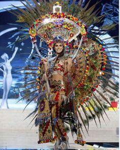 miss universo 2014 trajes tipicos - Buscar con Google