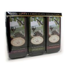 Wine Lover's Chocolate 3-Tin Gift Set, Pair with Port, Cabernet, Pinot Noir, 10.5-Ounce Gift Set by Wine Lover's Chocolates, http://www.amazon.com/dp/B000WYJNF2/ref=cm_sw_r_pi_dp_e3Ifsb06ZHZCD