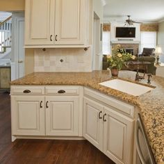 Antique English Kitchen Cabinet Refacing - eclectic - kitchen cabinets - philadelphia - by Let's Face It