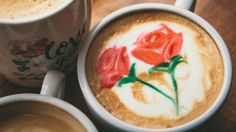 Mother's Day rose latte art tutorial with Barista Brian | CBC Life