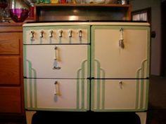 Art Deco 1932 Magic Chef Stove #magic #stove