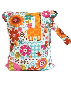 Wet Bag for Cloth Diapers Large Wet Bag by TheFuzzyStitch on Etsy