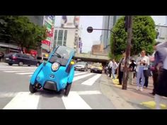 Toyota i-Road 3-wheeler launching in French carsharing & smart city scheme : TreeHugger