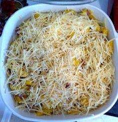 Delicata squash casserole