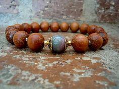 Wrist Mala / Yoga Bracelet / Mala Bracelet / Woman by Syrena56, $27.00