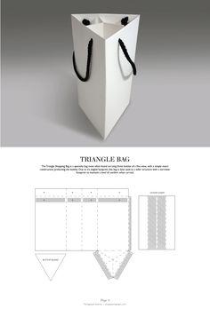 Triangle Bag - Packaging & Dielines: The Designer's Book of Packaging…