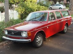 Daily Turismo: 5k: 1973 Volvo 145 - Thorsday Red Brick Special