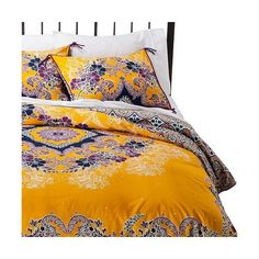 Find Bedspreads, Comforters And Bedding Coordinates at Target.com! Create a bright bohemian look in your bedroom with the Boho Boutique Sueli Duvet Set.  This …
