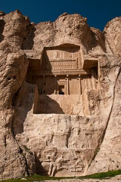 Naqsh-e Rustam - Tomb of Darius I (Darius the Great) - Iran.