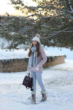 Lace and Lashes - blush-winter-coat-bernardo-review