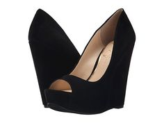 9fd5e521d7c0f2 Jessica Simpson Bethani Black Luxe Kid Suede - These are honestly the most  perfect looking black