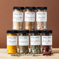 Make your own Thai noodles and curries with this spice collection and skip the take-out diet.