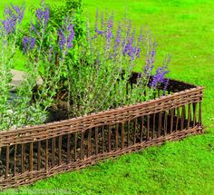 Classic-Willow-Hurdles-Lawn-Edging-Flower-Borders-Path-Edge