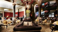 St. Pancras Renaissance Chambers Club http://luxworldwide.com/magazine/eat-drink-and-sleep/the-st-pancras-renaissance-chambers-of-luxury/