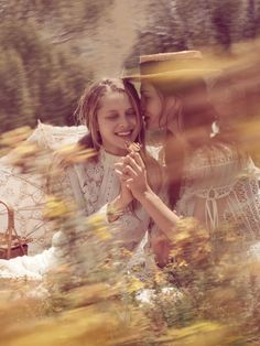 Phoebe Tonkin and Teresa Palmer for Vogue Australia (March 2015)