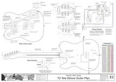 Image result for fender telecaster body dimensions