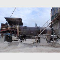 Proveedor de secador giratorio usado a nivel mundial | Secador giratorio 7ft.6in.dia. x 28ft de lago a la venta - Savona Equipment