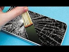Phone Hacks Everyone Should knowRepair A Phone Screen With Epoxy My name is Vitaly, and I love science! My task is to inspire children to explore the interesting science. Here you will find lots of u. Diy Hacks, Cleaning Hacks, Iphone Hacks, Simple Life Hacks, Useful Life Hacks, 27 Life Hacks, Telefon Hacks, Cracked Phone Screen, Life Hacks Youtube