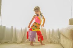 """""""Fashion by Mayhem"""" 4 year old girl recreates designer fashion and designs her own dresses with paper (with mom's help!) http://www.boredpanda.com/mother-daughter-paper-dresses-diy-fashion-by-mayhem/"""