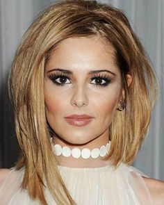 Blonde Bob Hairstyle for Thick Hair