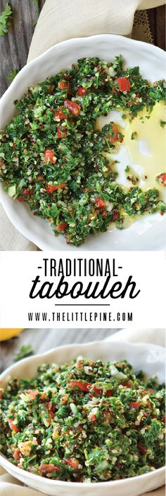 We're eating this Tabouleh Salad for every meal. Yes breakfast too. Don't judge!
